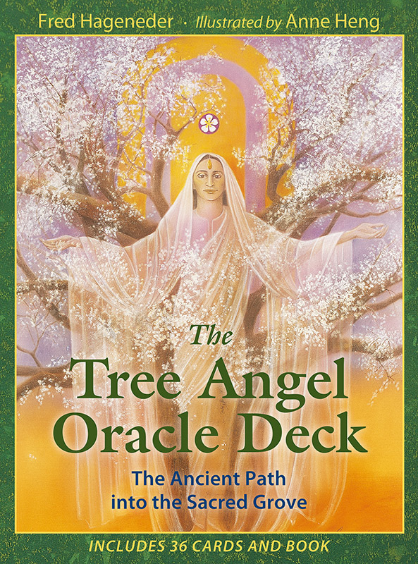 set cover of The Tree Angel Oracle Deck, by Fred Hageneder