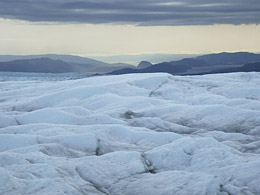 ice on Greenland (2009). © Halorache/Creative Commons