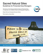 cover of the IUCN guidebook for sacred sites